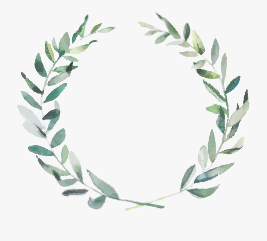 Boho clipart leaf. Wedding branch olive nature