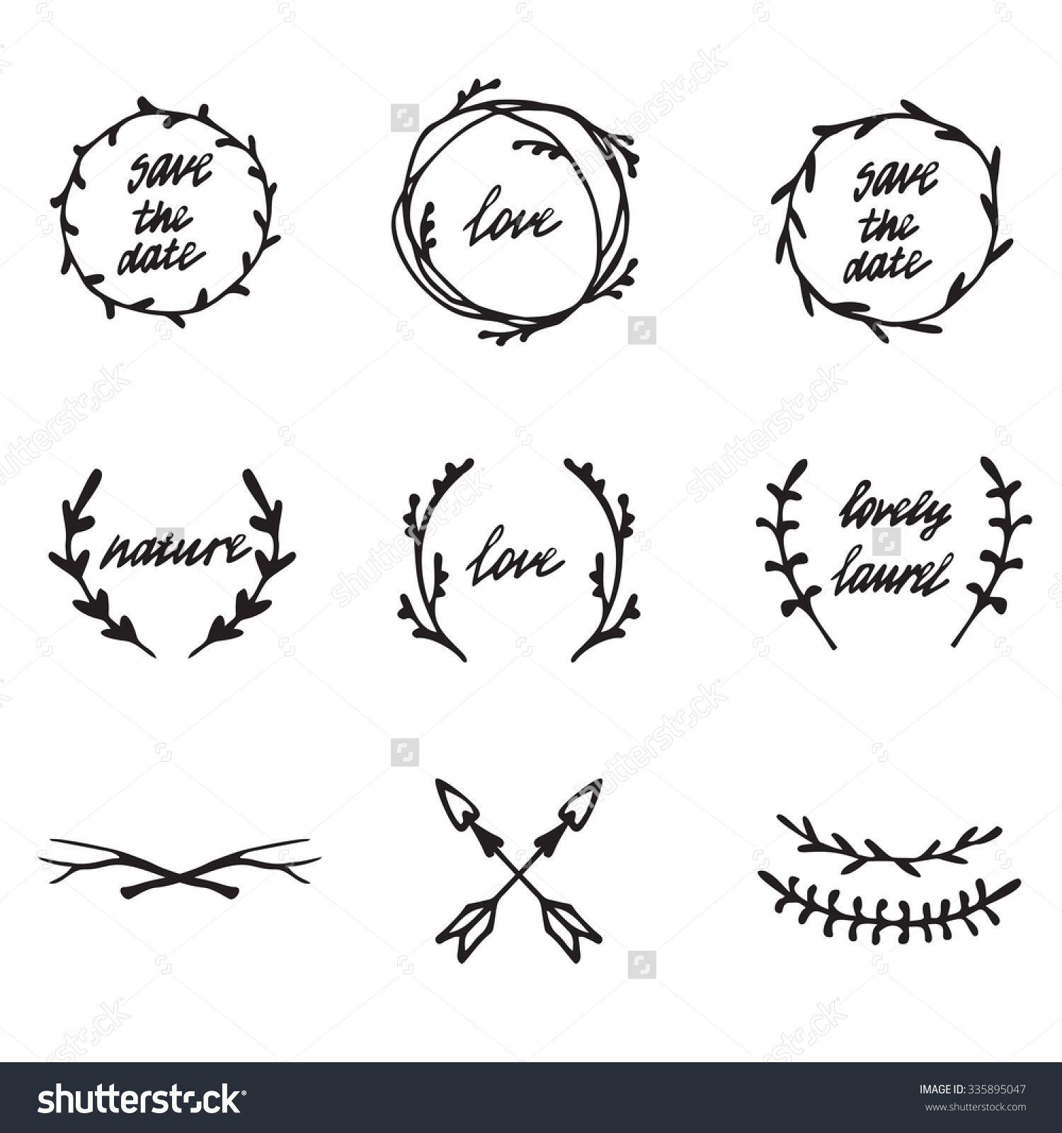 Boho clipart leaf. Doodles pesquisa google bullet