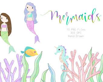 Succulent png succulents mermaids. Boho clipart mermaid