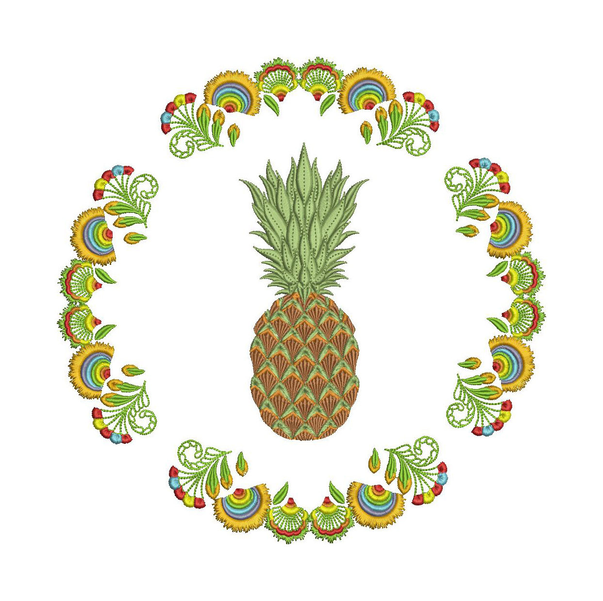 Boho clipart pineapple. Ananas fruit tropical plant