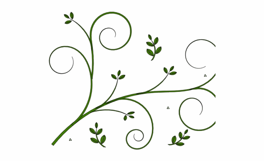 Simple flower design png. Boho clipart vine