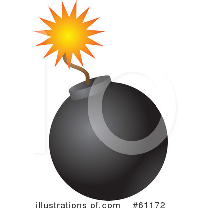 Illustration by kheng guan. Bomb clipart