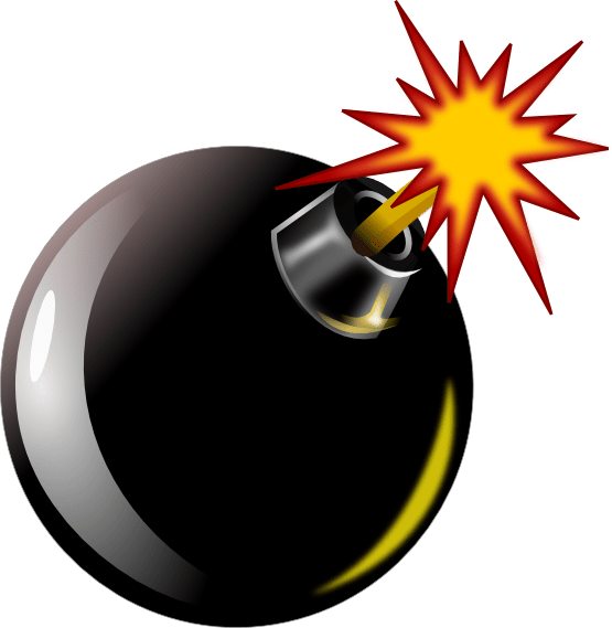 Transparent png stickpng. Bomb clipart