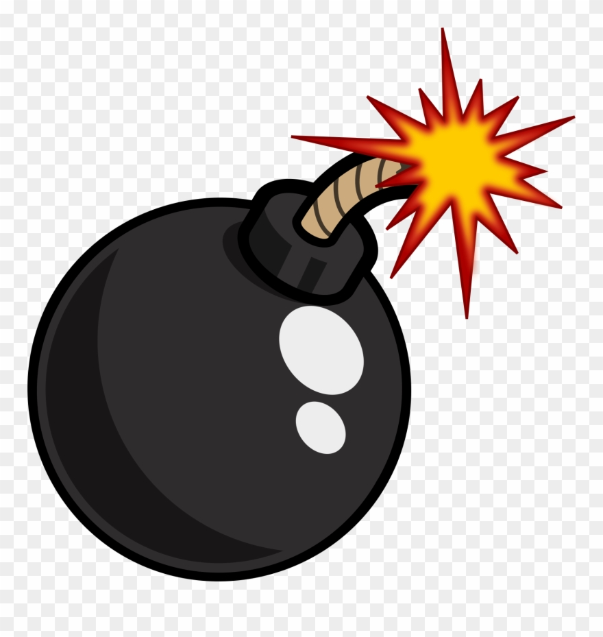 Bomb clipart. Link cartoon png transparent