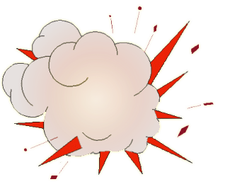 Bomb clipart animated.  collection of explosion