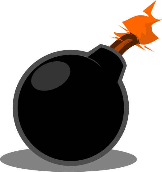 Free cartoon cliparts download. Bomb clipart animated