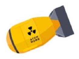 Free. Bomb clipart atomic bomb
