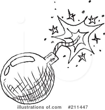 Illustration by yayayoyo royaltyfree. Bomb clipart black and white