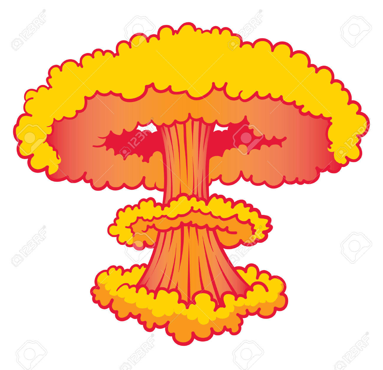 Bomb clipart bomb blast. Free nuclear explosion clipartmansion