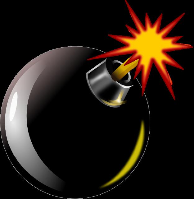 The top best blogs. Bomb clipart bomb blast