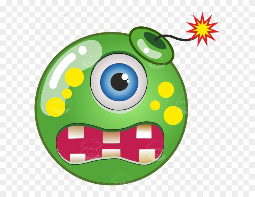 Bomb clipart carton. Green cartoon png download