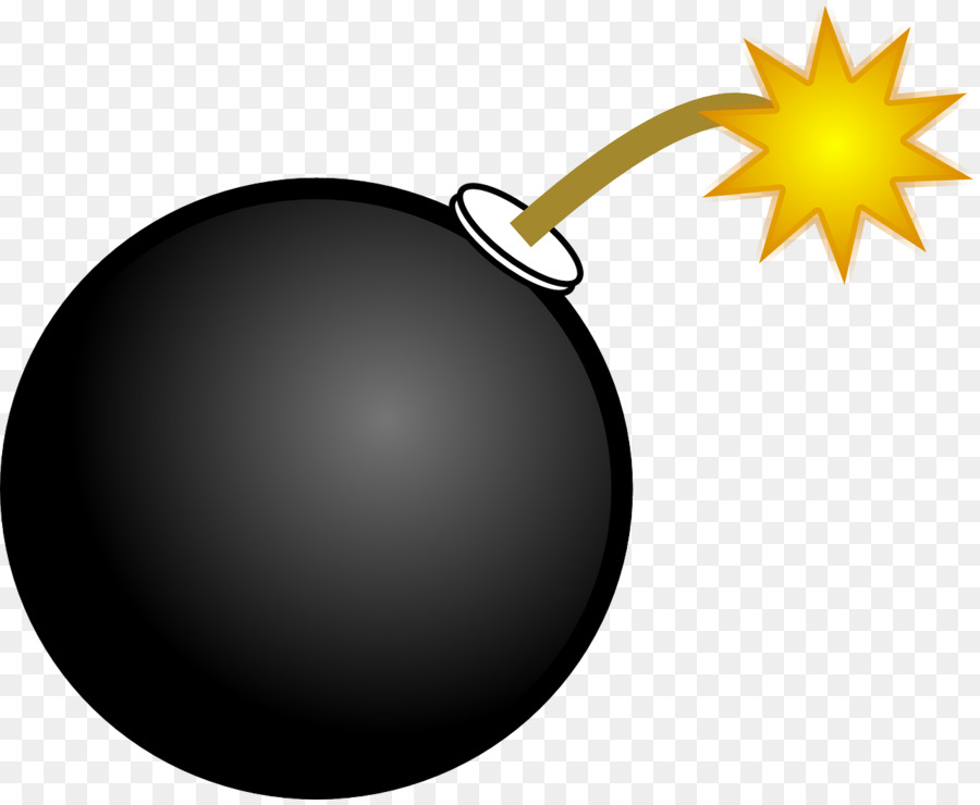 Bomb clipart cartoon. Explosion transparent clip art