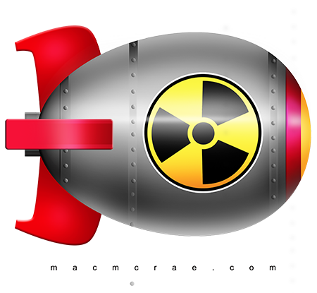 Nuclear. Bomb clipart cartoon