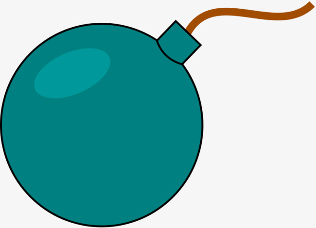 Blue png image and. Bomb clipart cartoon