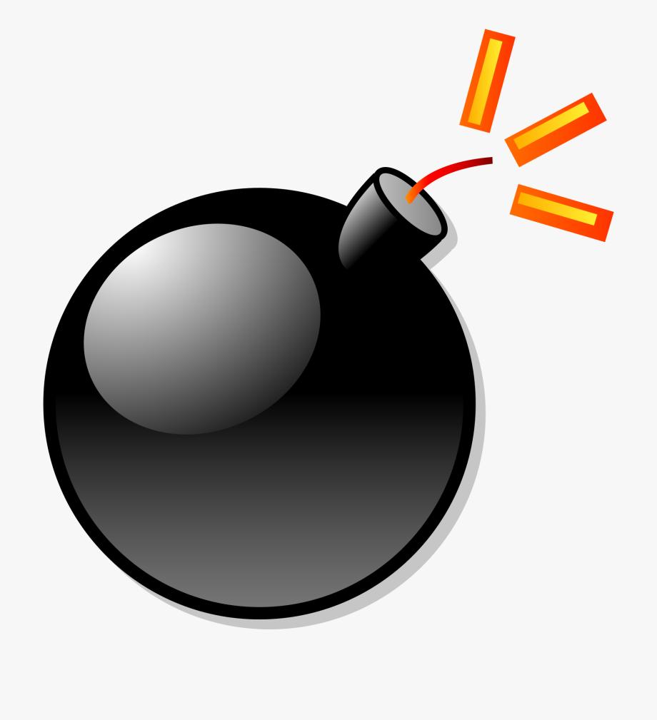 Pop cartoon no background. Bomb clipart catoon