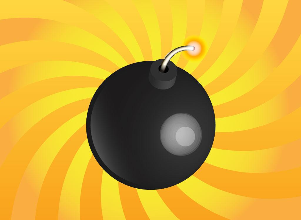 Bomb clipart catoon. Cartoon free download clip