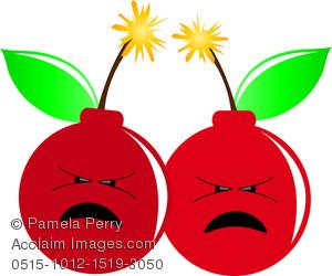Bomb clipart cherry bomb. Clip art image of