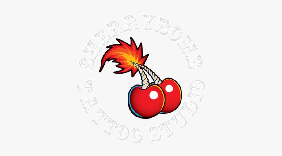 Cherrybomb studio tattoo free. Bomb clipart cherry bomb
