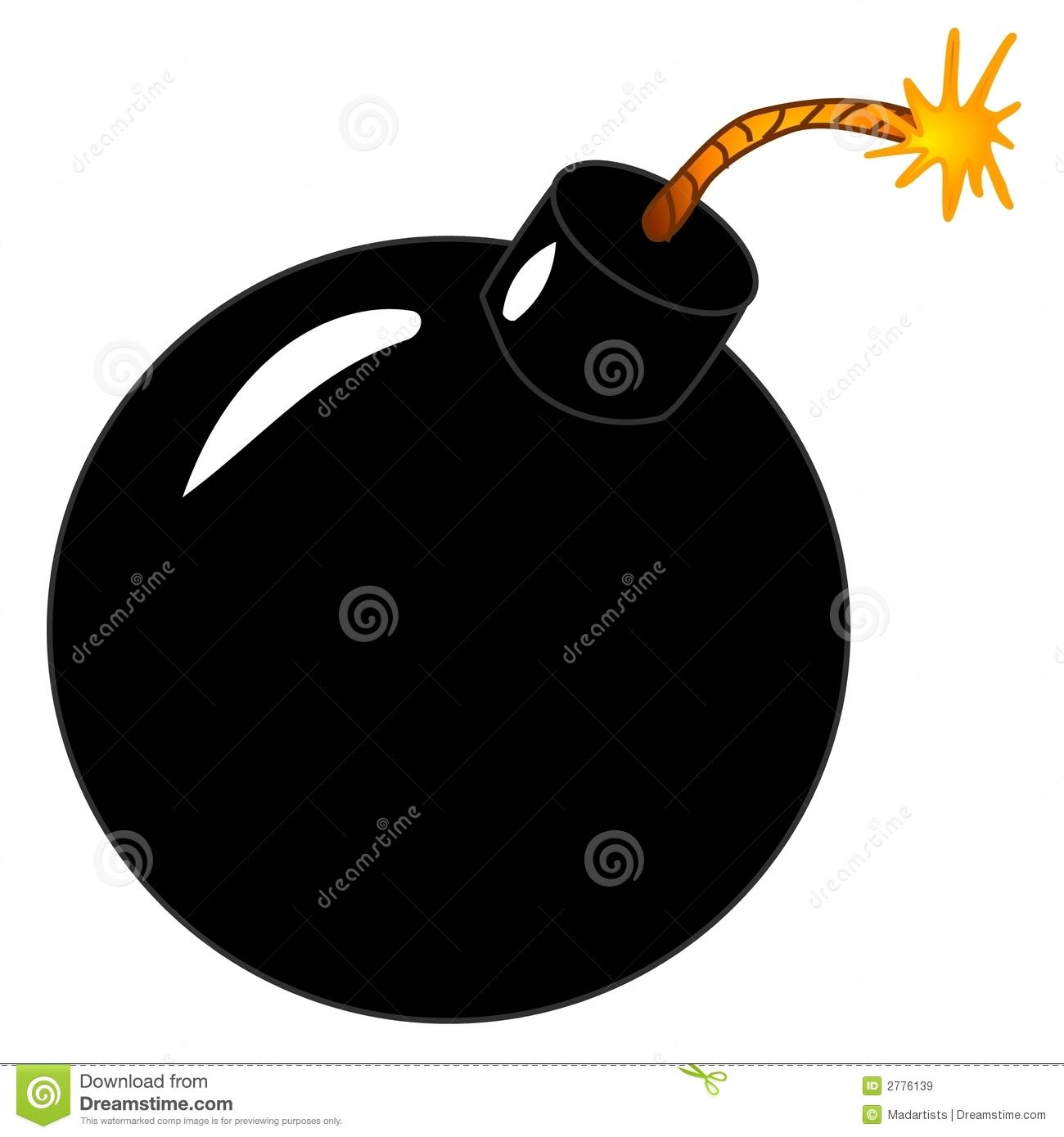 Bomb clipart clip art. Lit black round panda