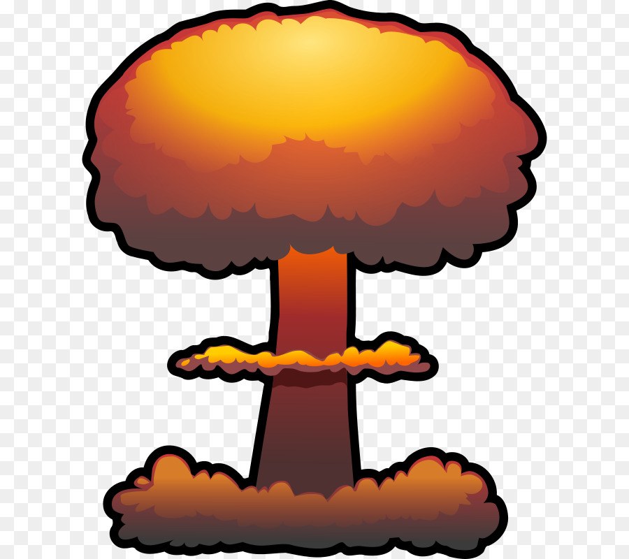 Bomb clipart cloud. Nuclear weapon explosion clip