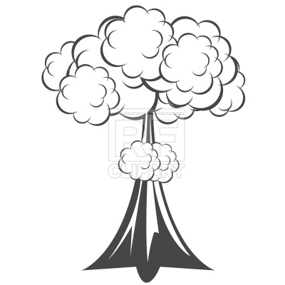 Explosion drawing at getdrawings. Bomb clipart cloud