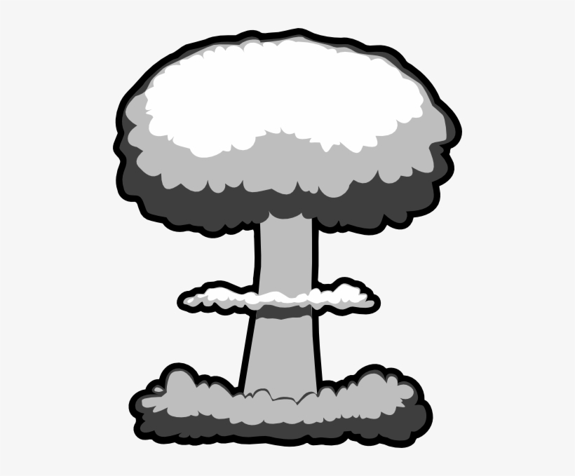 Bomb clipart cloud. Atomic explosion png nuclear