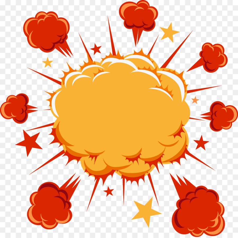Cartoon comics explosion cloud. Bomb clipart comic book
