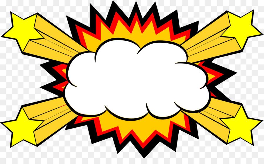 Clipart explosion comic book. Comics speech balloon clip