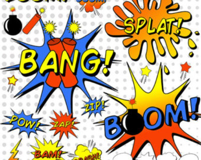 Pin on party ideas. Bomb clipart comic book