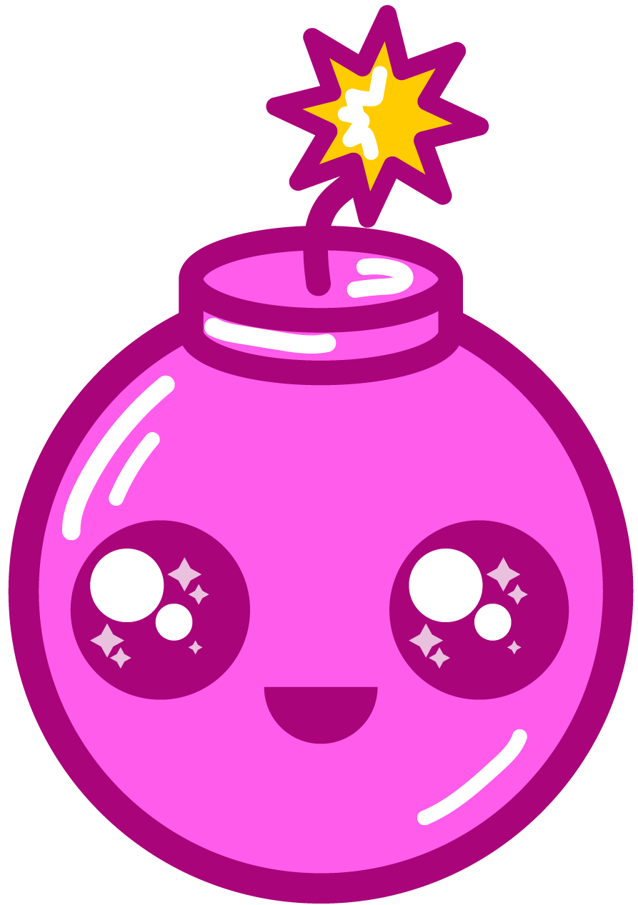 Bomb clipart cute. By barovlud on deviantart