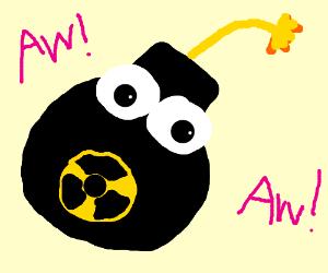 Nuclear . Bomb clipart cute