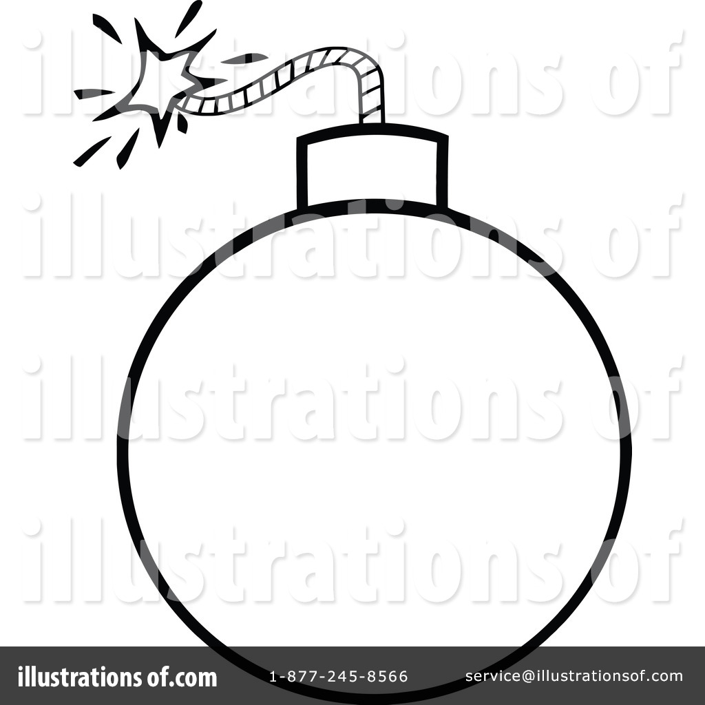 Illustration by hit toon. Bomb clipart drawing