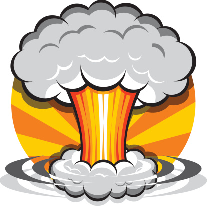Bomb clipart explosion.  collection of nuclear