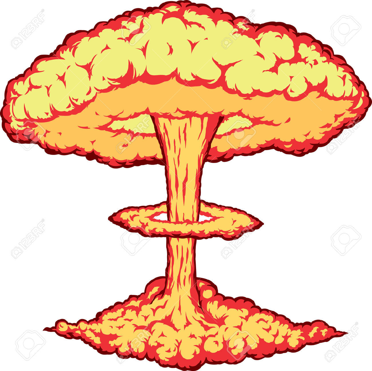 Bomb clipart explosion. Nuclear