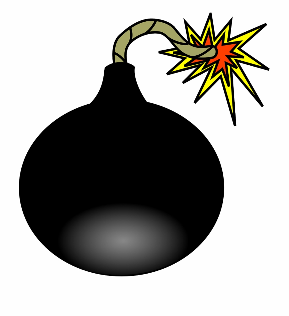 Explosive firecracker png image. Bomb clipart explosion