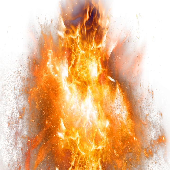 Free image on pixabay. Bomb clipart fire