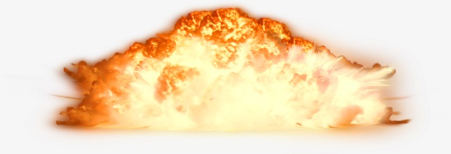 Explosion smoke atomic png. Bomb clipart fire