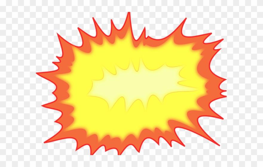 Fire clip art png. Burst clipart explosion