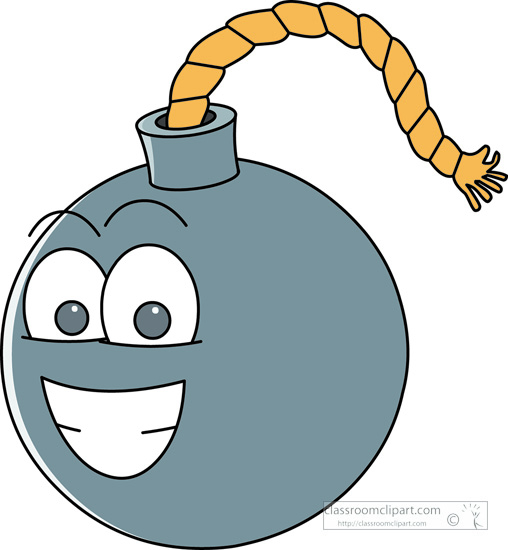Search results for clip. Bomb clipart fuse