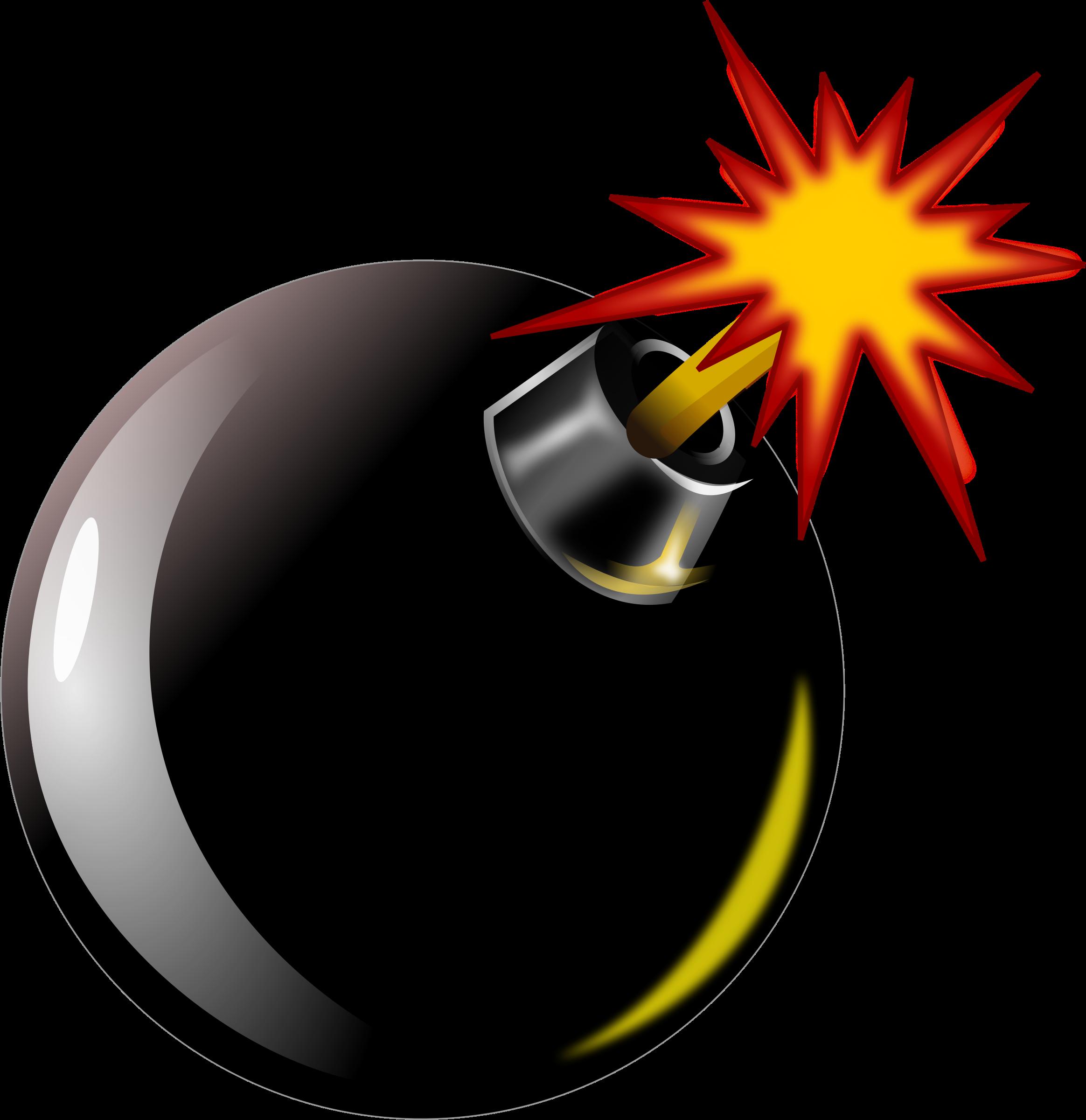 . Bomb clipart fuse