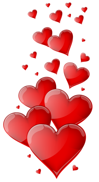 red hearts png