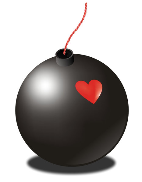 Free stock photos rgbstock. Bomb clipart heart