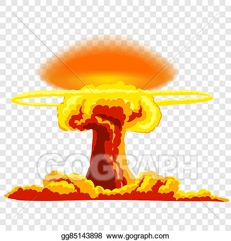 Bomb clipart hydrogen bomb. Drawing nuclear explosion with