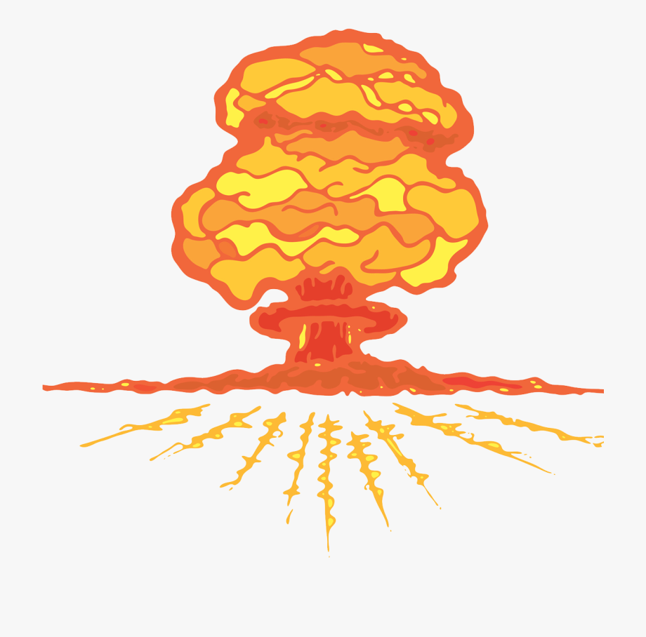 Explosion big atomic gif. Bomb clipart hydrogen bomb