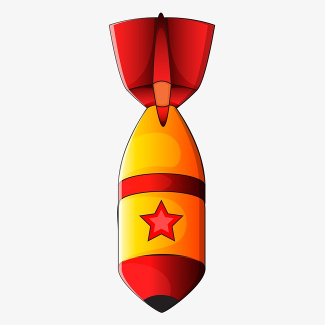 Cartoon png image and. Bomb clipart missile