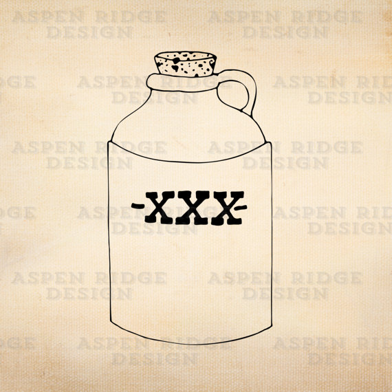 Bomb clipart moab. Moonshine jug vector art