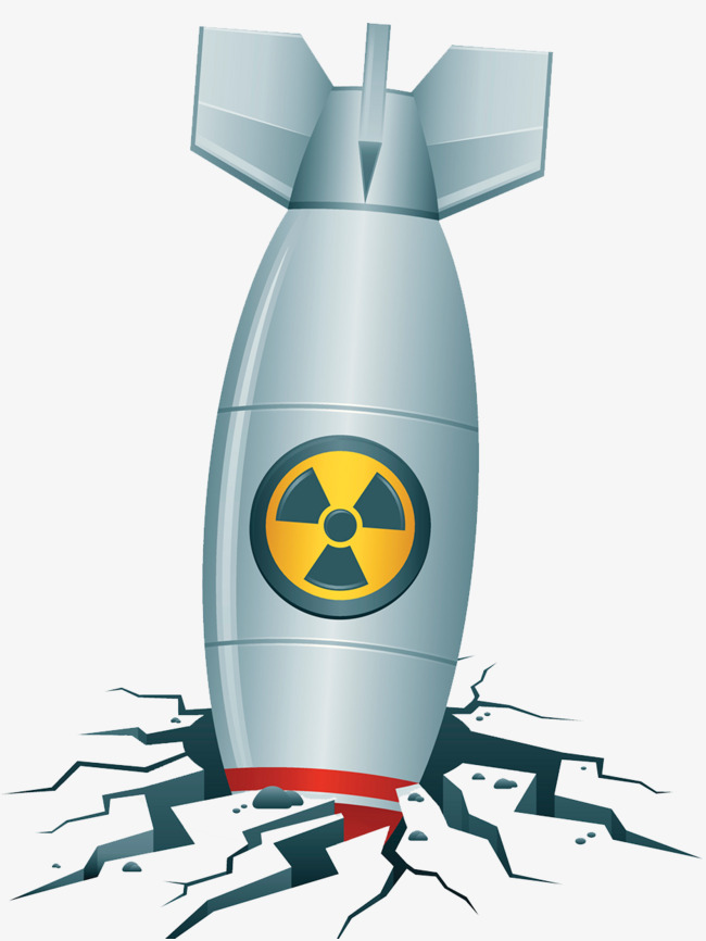 Bombs png and psd. Bomb clipart nuclear missile
