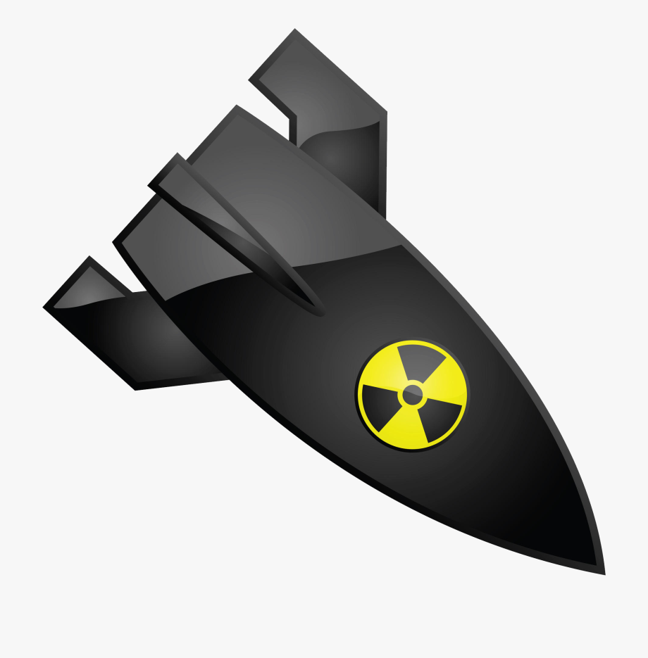 Png free . Bomb clipart nuclear missile