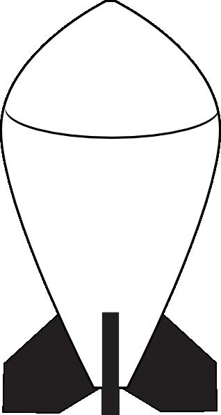 Bomb clipart nuclear warhead. Clip art at clker