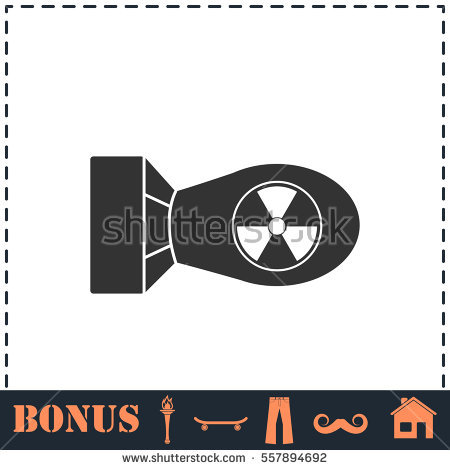 H attom pencil and. Bomb clipart nuke